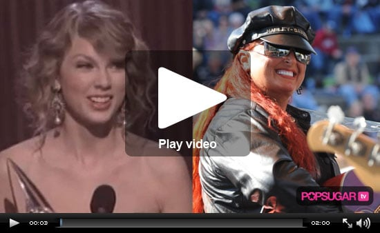 Taylor Swift's Adorable CMA Glory, Kristen Talks Love, Heather Locklear Slaps Conan, and Carrie Prejean Makes a Scene