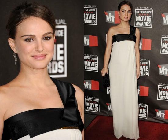 Natalie Portman at 2011 Critics' Choice Awards 2011-01-14 18:28:00