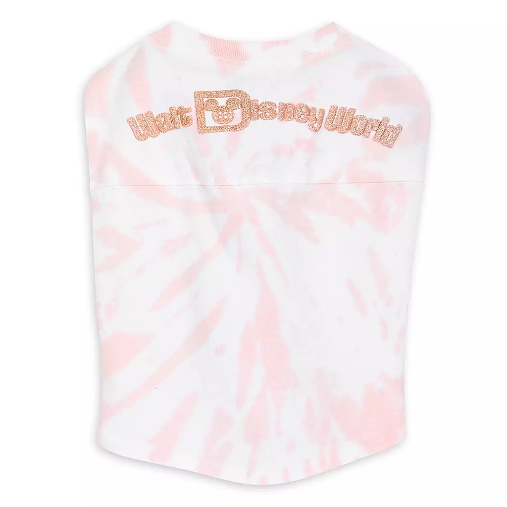 Walt Disney World Spirit Jersey For Dogs in Tie Dye Briar Rose Gold