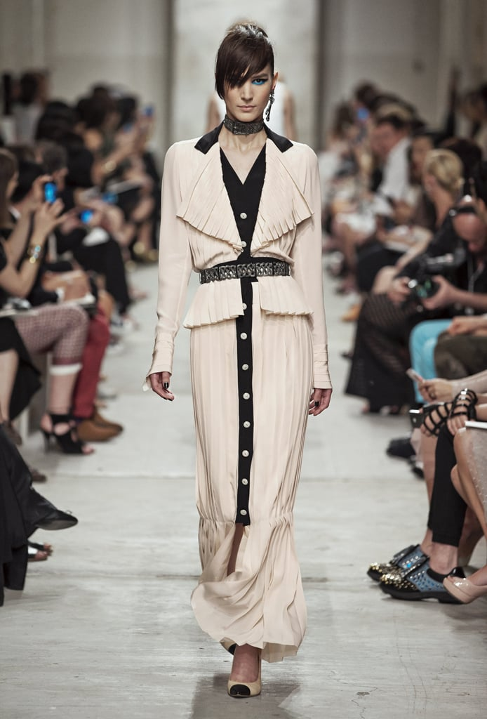 This long-skirted look swished its way right into our hearts. Source: Chanel