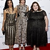Susan Kelechi Watson, Mandy Moore, and Chrissy Metz