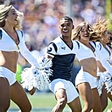 Male Cheerleaders Perform at Super Bowl For the First Time