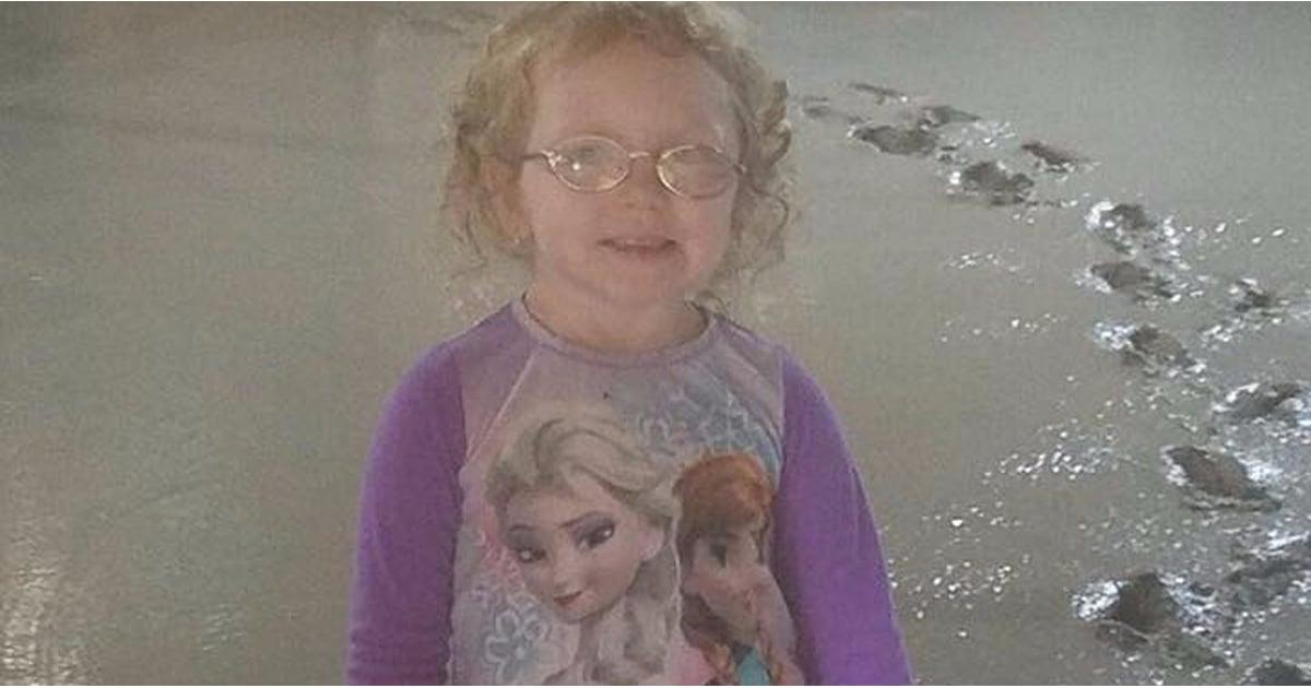 Little Girl Who Got Stuck In Cement Floor Popsugar Family