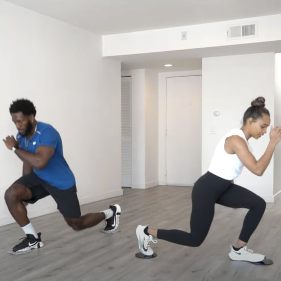 20-Minute Full-Body Workout With Sliders by Juice & Toya