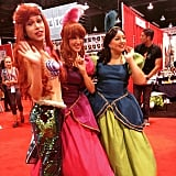 Ariel and Cinderella's Stepsisters