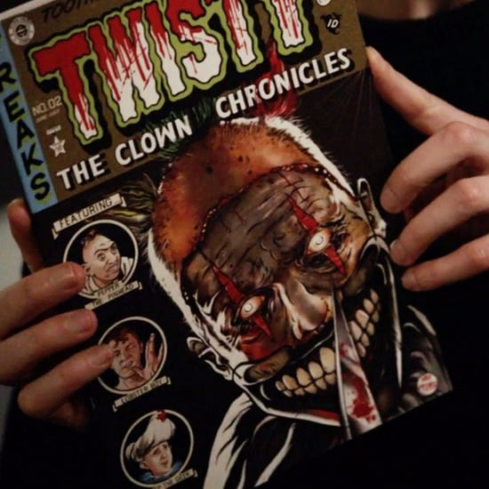 Freak Show Characters on the Twisty Comic Book in AHS: Cult