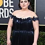 Beanie Feldstein's Dress at the Golden Globes 2020