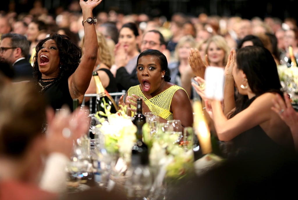 Uzo Aduba's pure joy when her name was called for outstanding performance by a female actor in a comedy series in 2014.
