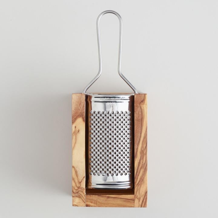 Cost Plus World Market Olivewood Cheese Grater ($20)