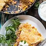 Mexican Chicken Cornbread Casserole