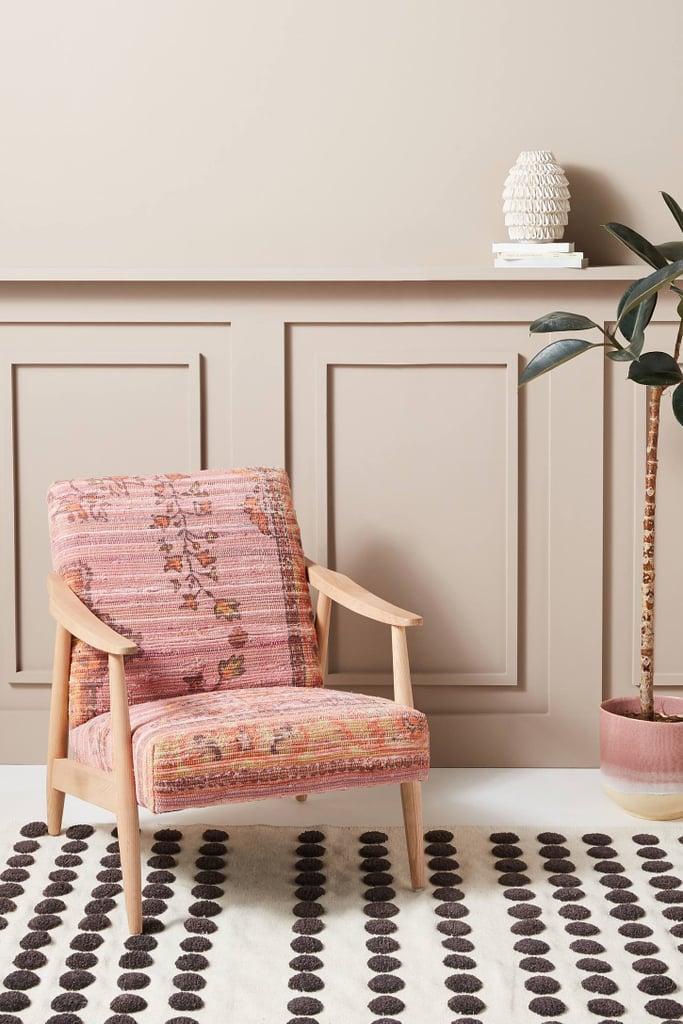 Get the Look: Alaris Rug-Printed Armchair