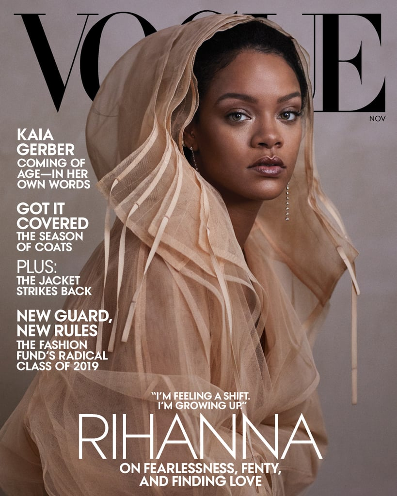 "Rihanna previously let her fans know that they shouldn't expect to see her performing at next year's Super Bowl Halftime Show, and in Vogue's November issue, the singer admitted that she was offered the chance to perform, but turned it down. Rihanna declined in solidarity with Colin Kaepernick, the former NFL quarterback who caused a stir among football fans when he began to kneel in protest during the National Anthem. ""There's things within that organisation that I do not agree with at all, and I was not about to go and be of service to them in any way."" ""I couldn't dare do that,"" she explained. ""For what? Who gains from that? Not my people. I just couldn't be a sellout. I couldn't be an enabler. There's things within that organisation that I do not agree with at all, and I was not about to go and be of service to them in any way."" It was recently confirmed that Jennifer Lopez and Shakira will be taking the stage at this year's Super Bowl. While getting deeper into politics, Rihanna later doubled down on her criticisms of Donald Trump when the subject of the recent mass shooting in El Paso, Texas was brought up. ""People are being murdered by war weapons that they legally purchase. This is just not normal,"" she said. ""That should never, ever be normal. And the fact that it's classified as something different because of the colour of their skin? It's a slap in the face. It's completely racist. Put an Arab man with that same weapon in that same Walmart and there is no way that Trump would sit there and address it publicly as a mental health problem. The most mentally ill human being in America right now seems to be the president."" After a gunman in El Paso killed 22 people and injured dozens of others in an act of domestic terrorism in August, Rihanna made headlines when she called out President Trump's response to the incident. ""Um... Donald, you spelt 'terrorism' wrong,"" she wrote on Instagram. The gunman, who is currently awaiting trial on a capital murder charge, claimed to have been targeting immigrants.  As an immigrant herself, Rihanna also spoke about the fear she experiences on behalf of other immigrants and what she would say to her younger fans. ""What do you say? What can you say? It's gonna get better? I almost feel sick to my stomach,"" she continued. ""I don't even believe this is happening in real life. In front of my eyes. In front of the world. It's not even hidden. This is blatant.""  Rihanna's had her hand in a variety of buckets lately. Since the release of her last album, ANTI, in 2016, she's given her music a backseat to builda multimillion dollar beauty company, a size-inclusive lingerie brand, and a luxury fashion line with LVMH Moët Hennessy Louis Vuitton. She also announced on Oct. 7 that she's releasing a 500-plus-page visual autobiography later this month. Head over to Vogue.com to read Rihanna's full interview.      Related:                                                                                                           106 Times Rihanna Single-Handedly Made the Temperature Rise 10 Degrees"