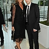 Burberry's Angela Ahrendts and Christopher Bailey