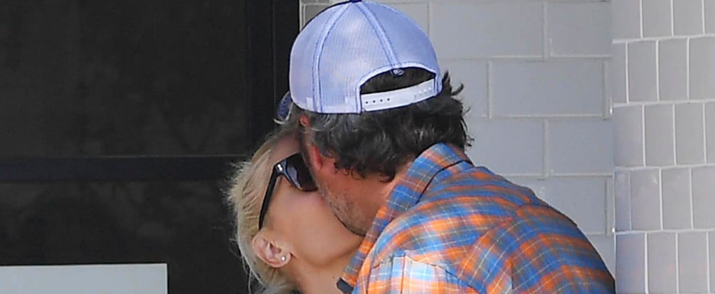Blake Shelton Plants a Kiss on Gwen Stefani During Their PDA-Filled Lunch Date