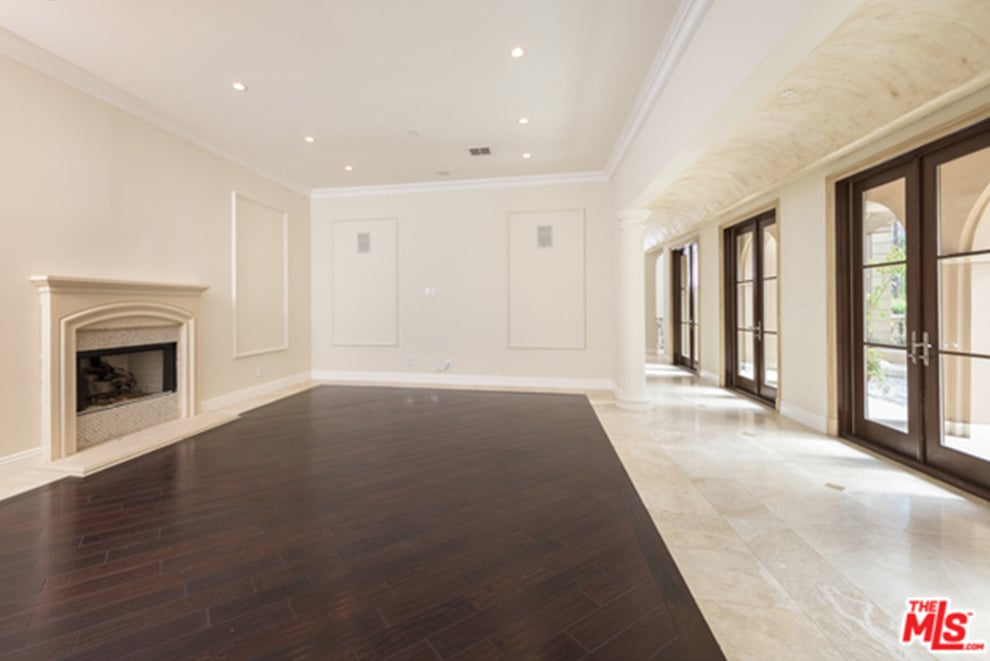 stone floors for living rooms benson sells beverly home popsugar home 22311
