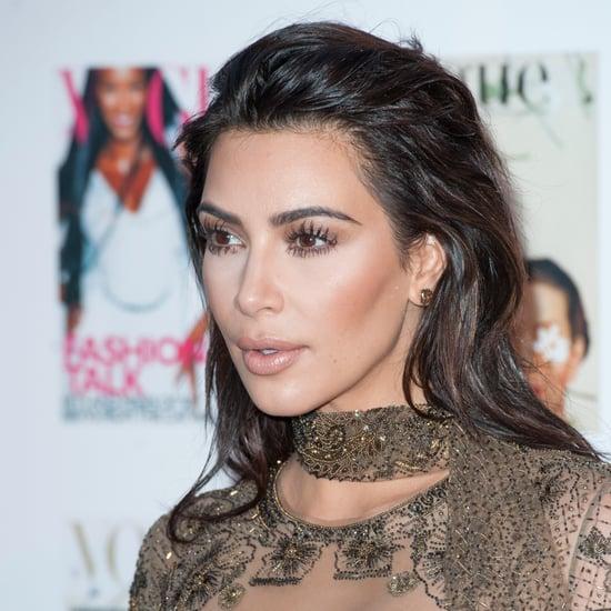 Kim Kardashian Is Over Contouring