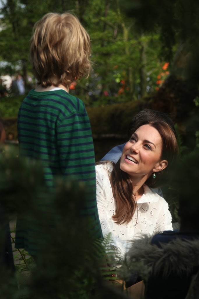 Kate Middleton Tried the Wide-Leg Pant Trend, and Khakis Have Never Looked Chicer