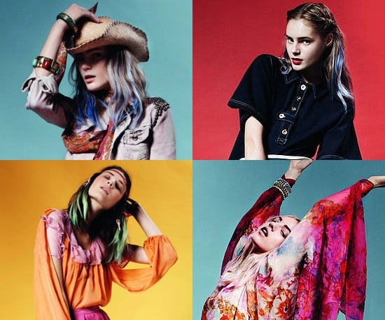 It's 70s Ahoy With Topshop's Spring 2011 Look Book. Colour, Flares and Prints All Make The Grade.