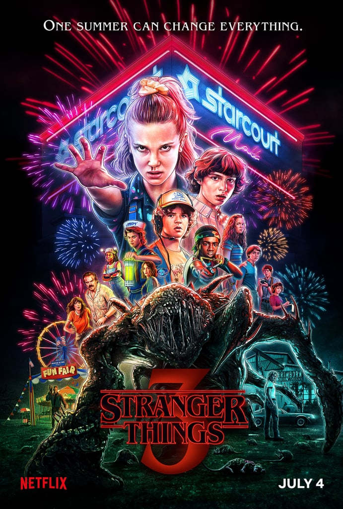 Stranger Things season 3 promotion poster