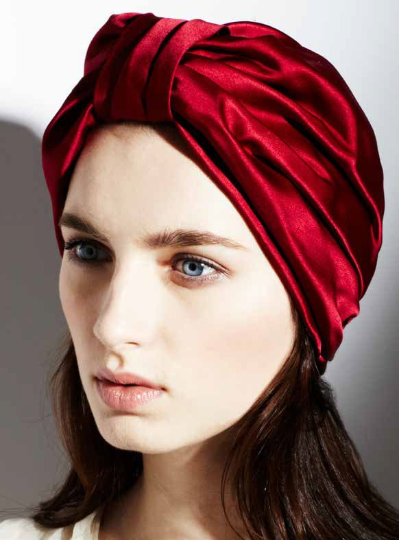 Jennifer Behr Center Full Turban ($495)