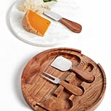 A Cheese Board & Cheese Knives