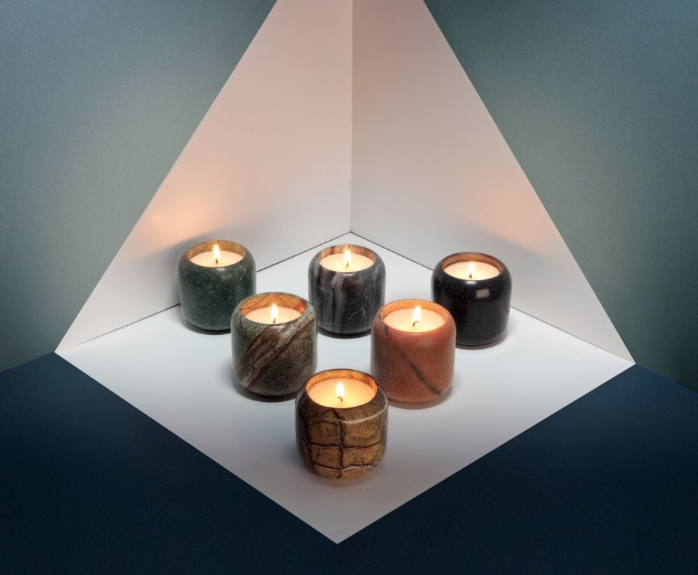 Tom Dixon Materialism Candle Set