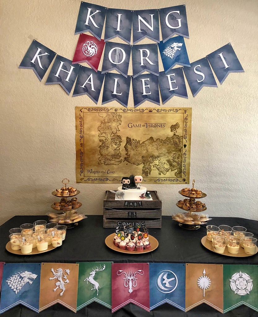The Dessert Table Was Fit For a King . . . or Khaleesi