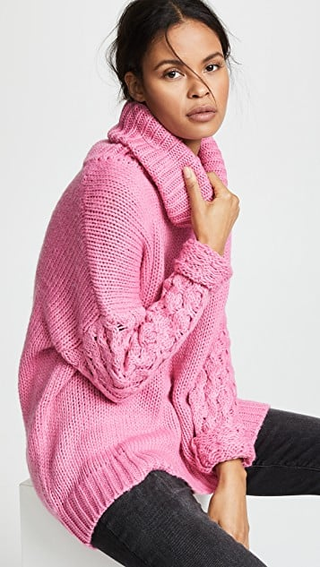 One Teaspoon Rider Roll Neck Sweater