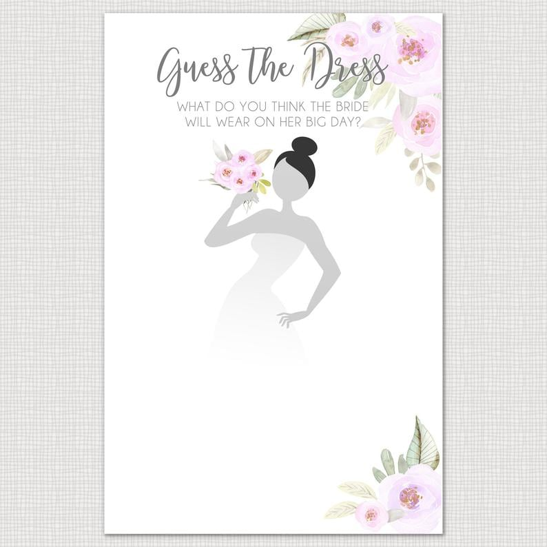photo regarding Guess the Disney Movie Song Printable known as Bet the Costume Printable Bridal Shower Sport Printable