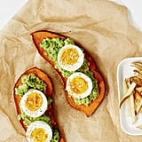 Get the recipe: Sweet potato toast