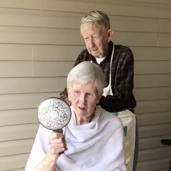 Video of Man Giving Wife a Haircut at Home