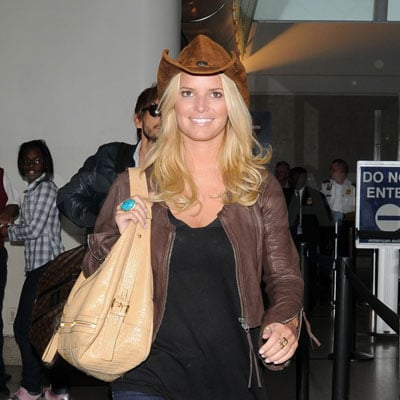 Jessica Simpson at LAX 2008-05-29 15:51:56
