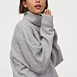 H&M Oversized Turtleneck Sweater