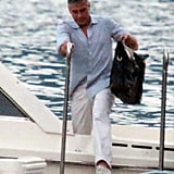 George Clooney and Stacy Keibler Keep the Como Time Coming