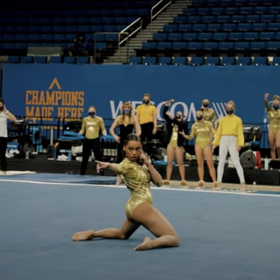 Watch Margzetta Frazier's 2021 UCLA Gymnastics Floor Routine
