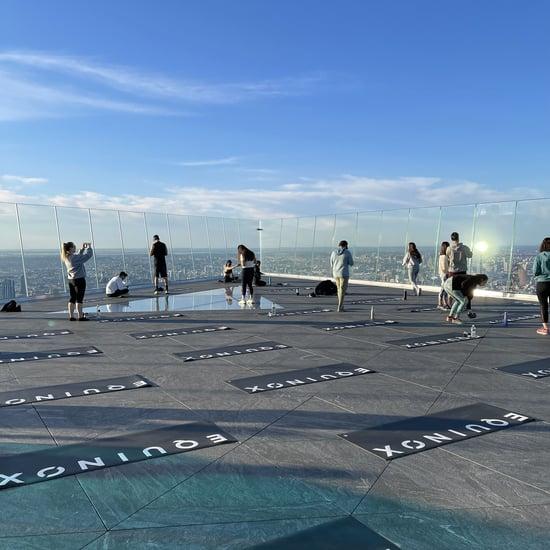 I Took the Edge Yoga Class at Hudson Yards: I Didn't Fall!