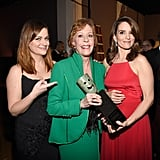 Tina and Amy presented fellow funny lady Carol Burnett with an award at the 2016 Screen Actors Guild Awards.