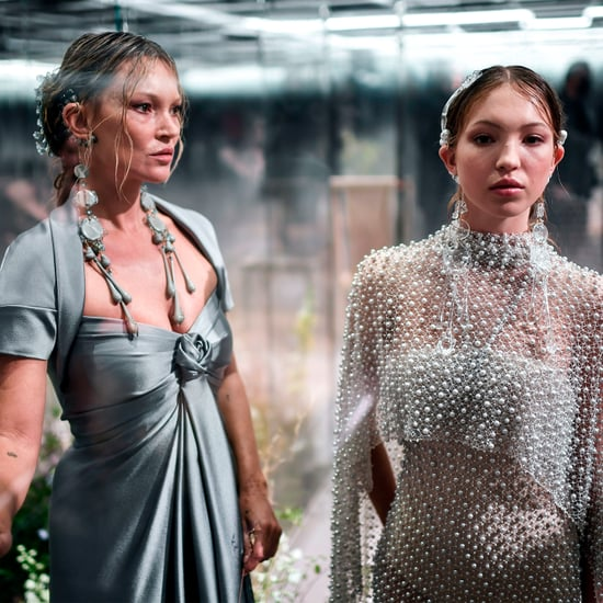 Kate Moss and Daughter Lila on Fendi Couture Runway 2021