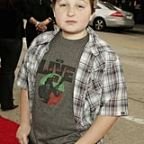 Attending the premiere of Zathura: A Space Adventure in November 2005.