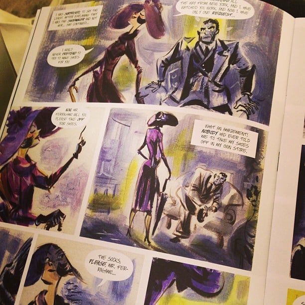 Ferragamo's comic book is our favorite bit of Summer reading yet.