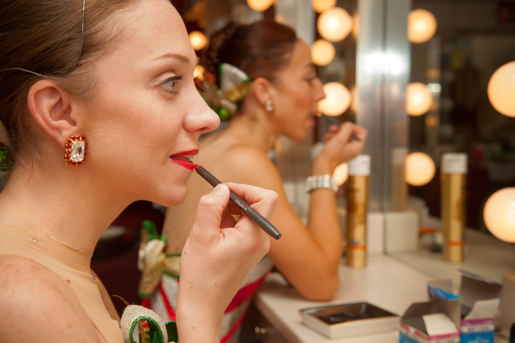 Rockettes Makeup DIY