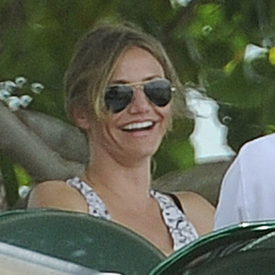 Cameron Diaz and ARod at Lunch in Miami Pictures