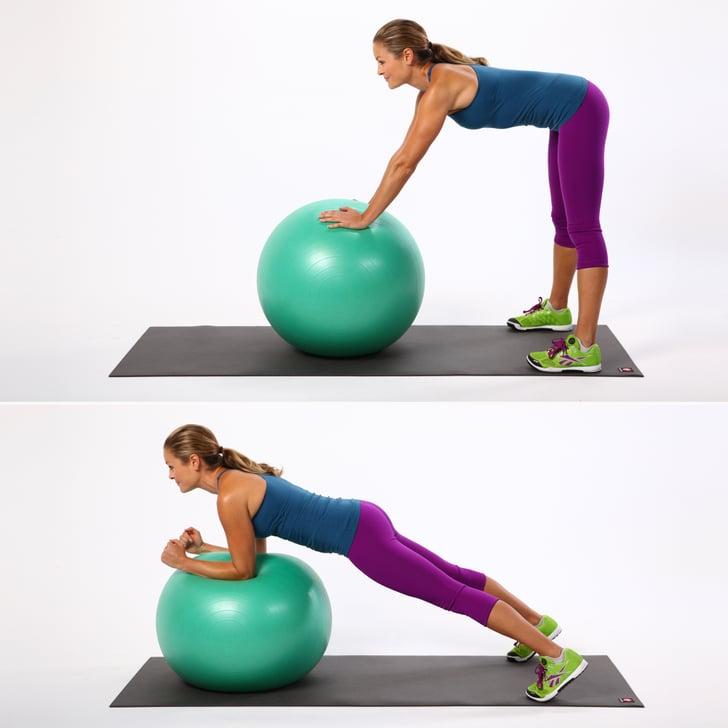 Balance Ball Kick: Best Stability Ball Exercises