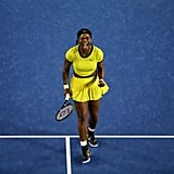 She Was Glowing in Yellow at the 2016 Australian Open