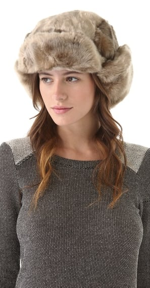 Doesn't this Bop Basics faux-fur trapper hat ($69, originally $98) just scream plush? We would never want to take it off.