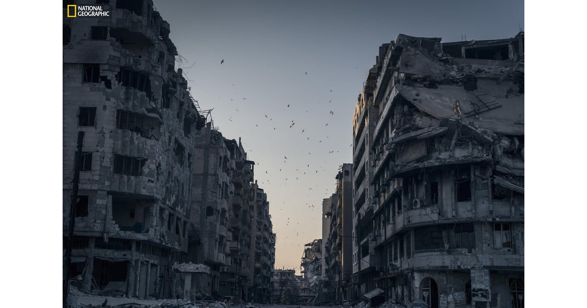 Honorable Mention Places Destroyed Homs Natgeo Photo