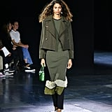 A Sweater Dress Over Pants on the Rag & Bone Runway during New York Fashion Week