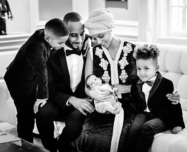 Pictures of Alicia Keys and Swizz Beatz's Son Genesis