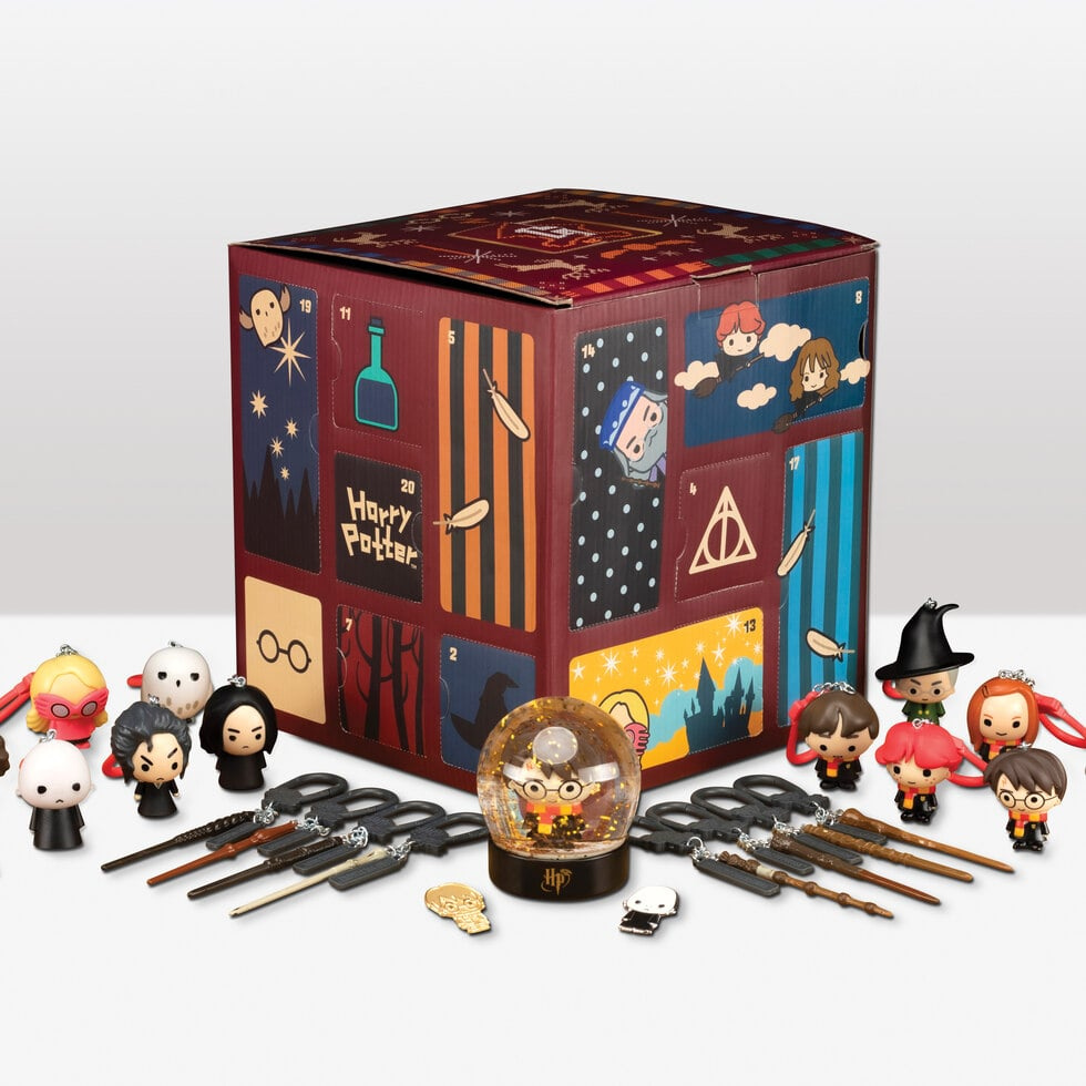 Christmas at Hogwarts is almost upon us, and this Harry Potter Advent Calendar has me ready to go all out for the holiday season — I'm talking curling up in a homemade Molly Weasley sweater, playing a festive Celestina Warbeck record, and drinking a hot mug full of butterbeer, just like the Golden Trio. The Harry Potter Deluxe Advent Calendar ($78), sold by Firebox, comes with 24 doors concealing Harry Potter-themed goodies inside, including an assortment of character-inspired mini ornaments — perfect for decorating the Great Hall your Christmas tree! The spellbinding gift includes mini wands of all shapes and sizes, pins, a snow globe, and Harry Potter collectibles inspired by Harry, Ron, Bellatrix, Voldemort, Ginny, Hedwig, Professor McGonagall, and more. Mini Luna is even wearing her bright pink Spectre Specs (which she ordered from The Quibbler, of course)! Keep scrolling to take a closer look at all the magical details of this adorable Harry Potter Advent Calendar, and consider conjuring up one for the witch or wizard in your life.      Related:                                                                                                           85 Magical Gifts For the Kid Who Loves Harry Potter