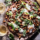 Cauliflower Crust Pizza With Chickpeas